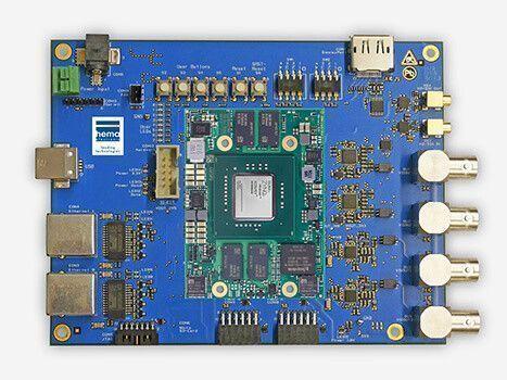 Sensordatenerfassung und Übertragung für Radarsysteme FPGA Plattform