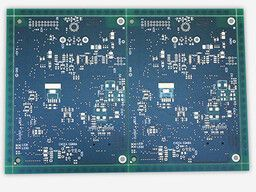 Unprinted circuit board ready for assembly