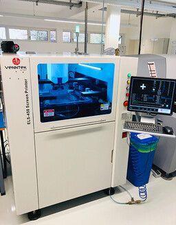 Lotpasten-Siebdrucker für schnelle Prototypenfertigung und Serien bis 1000 Stück