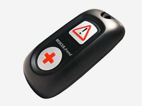 Tragbarer Notruf und Sicherheitsmelder mit GPS und SIM-Karte