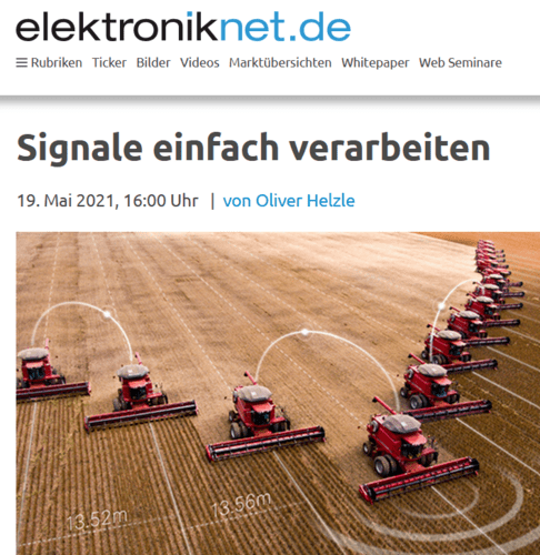 Foto NEWS Signale einfach verarbeiten - Fachartikel auf elektroniknet.de