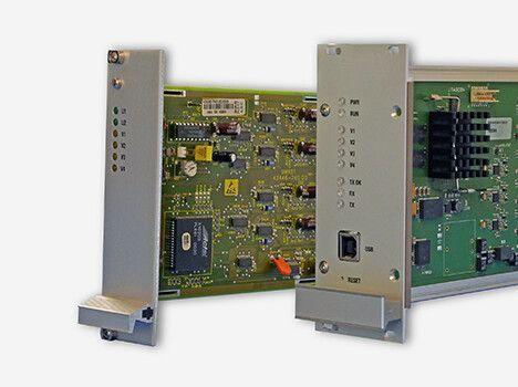 Videomultiplexer für die drahtlose Videoübertragung in der Bahntechnik mit FPGA-Modultechnologie