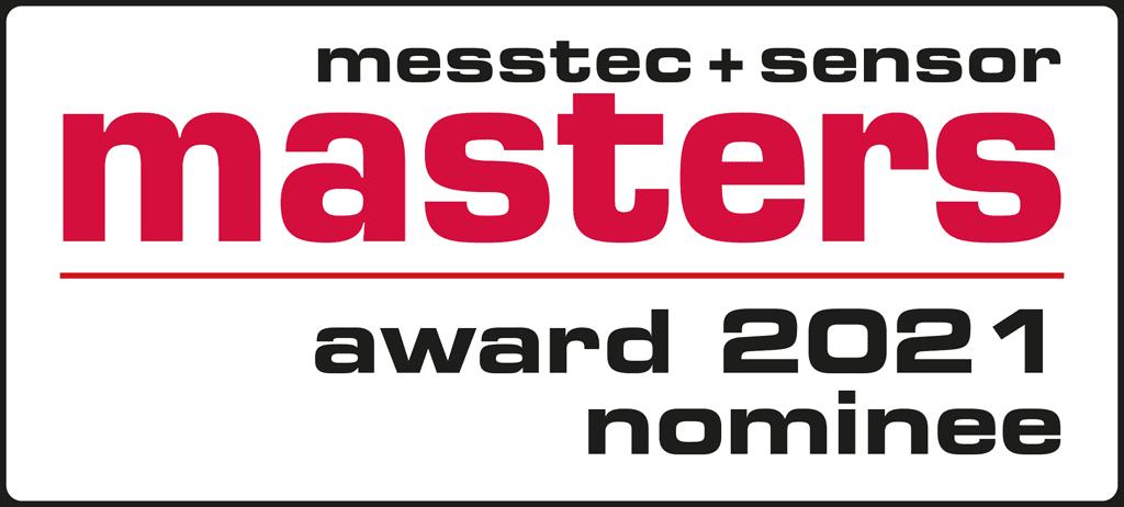 Nominiert für den messtec + sensor masters award 2021