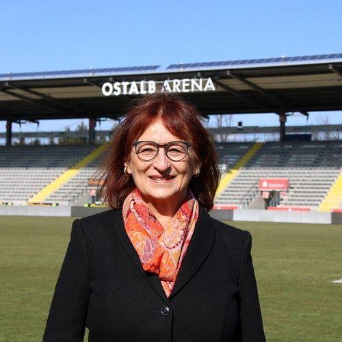 Charlotte Helzle im Vorstand des VFR Aalen