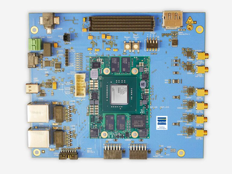 Low-Latency Videomatrix für funkbasierte Video-Broadcast Anwendungen (FPGA Plattform)