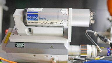 seelectorICAM LASER TWIN-System für die Lasermaterialbearbeitung
