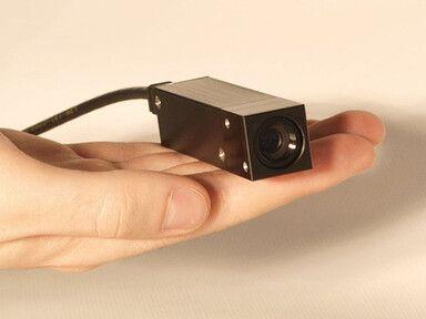 seelector ICAM HD4 Sensorkopf für den Einsatz in Roboteranwendungen unter extrem beengten Platzverhältnissen