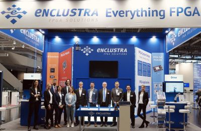 hema and Enclustra at the Embedded World 2020