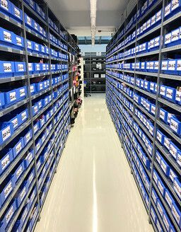 hema electronic components warehouse for prototype and series production