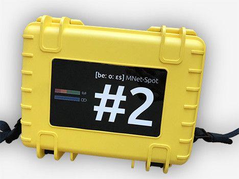 MESH WLAN-Router für raue Umgebungen und Rettungskräfte