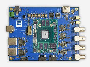 Embedded Vision Mainboard mit XU9-FPGA-Modul von Enclustra