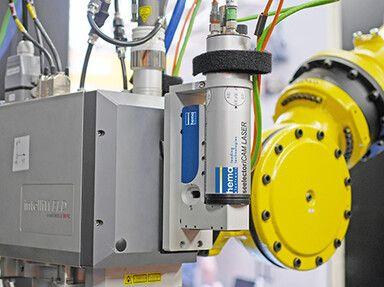 seelectorICAM LASER an intelliWELD Laser-Remote-Schweißkopf