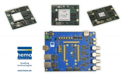 Embedded Vision Mainboard with various FPGA modules