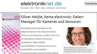 Foto Artikel auf elektroniknet.de 2021-02